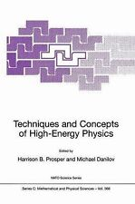 Techniques and Concepts of High-Energy Physics (Nato Science Series C:-ExLibrary