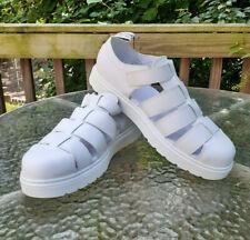 Dr. Martens Vibal Original Fisherman White Leather Men's Sandals Size 14