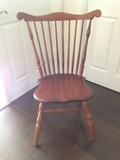 Pair Of Reproduction 18th Century Fan Back Windsor Side Chairs (Conant Ball Co.)