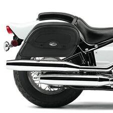 YAMAHA XVS 650 DRAG STAR CUSTOM Saddle Bags & RIGID SUPPORT BRACKETS S0438/W0056