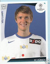 Football autocollant-panini uefa champions league 2009-10 - nº 195-fc zurich
