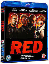 Red (Blu-ray, 2011) NEW / SEALED