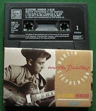 Martin Stephenson & The Daintees Gladsome Humour & Blue Cassette Tape - TESTED
