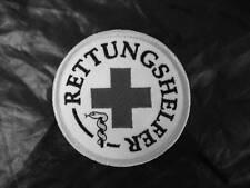 Rettungshelfer Rundemblem Emblem  Aufnäher