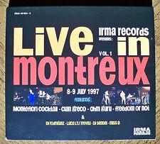 Irma Records Presents: Live in Montreux Vol 1, CD Montefiori Cocktail & 3 More!