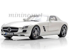 NOREV 183490 2010 10 MERCEDES BENZ SLS AMG COUPE 1/18 DIECAST SILVER