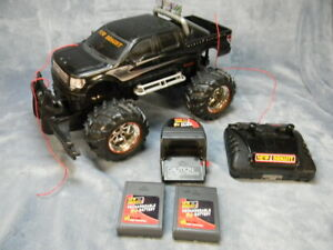 RADIO CONTROLLED FORD F-150 HARLEY DAVIDSON PICKUP BY NEW BRIGHT W/CHARGER++