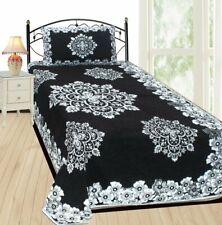 Bedsheet Cum Bed Spread for Single Bed Velvet Single Bedsheet Cum Bed Spread