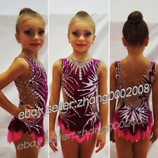 rhythmic gymnastics leotard.Acrobatic twirling competition dance dress RG custom