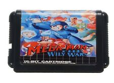 Sega Mega Drive Genesis MEGA MAN die gerissenen Kriege
