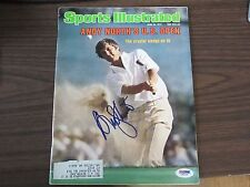 Andy North Autograph / Signed Sports Illustrated 6-26-78 US Open PSA/DNA