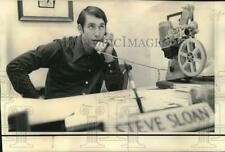 1973 Press Photo New Vanderbilt Football Coach Steve Sloan in Atlanta Office