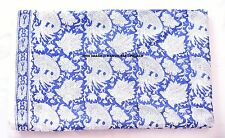 10 Yard Indian Cotton Supplies Sewing Paisley Fabric Hand Block Print Fabrics