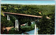 LEXINGTON - RICHMOND, Kentucky  KY-    CLAY'S FERRY BRIDGE   Postcard
