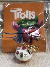 Authentic Origami Owl TROLLS Cupcake Dangle Sprinkles Gold DreamWorks NEW!