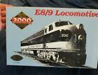 HO scale Life-Like Proto 2000 E8/9 locomotive Florida East Coast, never run