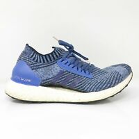 Adidas Womens Ultraboost X BB6508 Blue Running Shoes Lace Up Low Top Size 8