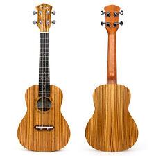 Kmise 23 Inch Concert Ukulele Uke Hawaii Guitar Musical Instruments Zebrawood