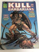 Kull and the Barbarians #1 first issue- May 1975-Roy Thomas-creators of Conan