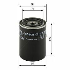 BOSCH Oil Filter 0451103357 - Single