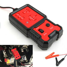Car Battery Diagnostic Checker Electronic Automotive Relay Tester 12V Universal