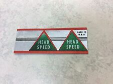 Head Speed putter shaft band label (1) restore 8802 or Wilson Arnold Palmer