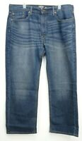 New Signature By Levi Strauss Mens Relaxed Stretch Blue Denim Jeans 38 x 30