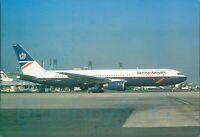 British Airways Boeing 767 300 ER GBNWD Paris CDG Leconte