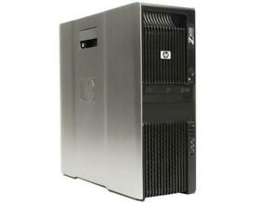 HP Z600 Workstation 2X Intel Xeon Quad Core E5540 2.53Ghz,8GB, 500GB