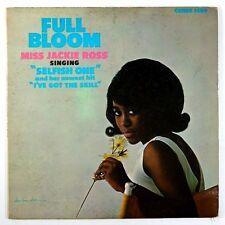 "JACKIE ROSS~FULL BLOOM~""VG+/VG~""MONO""~U.S. ORIG 1962 CHESS-1459~LP"