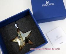 New in Box Swarovski 1140008 Christmas Ornament Star, Crystal Golden Shadow