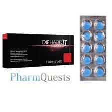 10 x Blaue Potenzmittel Starke Erektion für Männer blaue Sexpillen natürlich