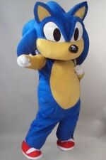 Character Sonic The Hedgehog Video Game Mascot Costume Fancy Dress Adults Size