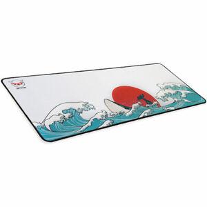 Non-slip Anime Design Wide Large Computer Mouse Pad Desk Mat 12x28inch Coral Sea
