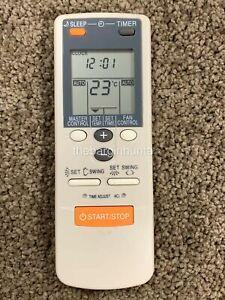 Fujitsu Air Conditioner Replacement Remote Control AR-DL1 - AUTO, HEAT & COOL