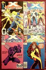 X-FACTOR LOT OF 4 BOOKS: #16 26 47 48 (MARVEL COMICS) COPPER AGE!!!