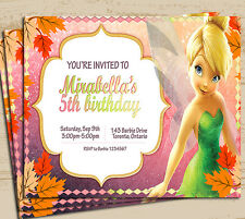 Tinkbell Invitation