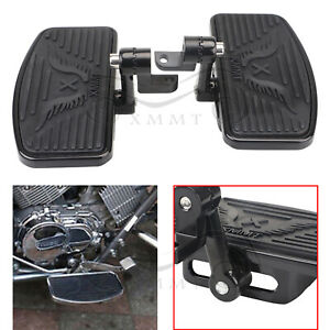 Steel Adjustable Floorboard Footboards Pedals For Harley Fatboy Forty Eight