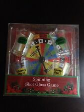 Spinning Board Shot Glass Drinking Game (Brand New)