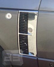 06-09 Range Rover L322 Chrome Side Vents with  Black Mesh