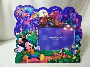 Disneyland Resort Photo Frame - Holds 4x6 Photo - New.
