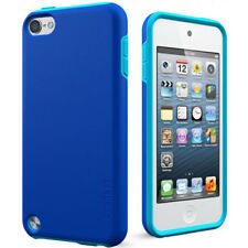 Cygnett Glossy Two-Tone Case Cover For iPod Touch 5G 5th Gen - Blue/Green NEW