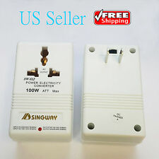 Professional 220/240V To 110/120V Power Voltage Electricity Converter Adapter