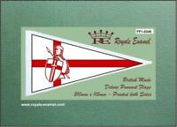 Royale Antenna Pennant Flag CLASSIC ENGLAND CRUISADER FP1.0349