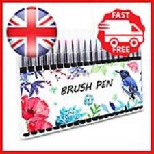 Firbon Watercolour Brush Pens Set 20 Colours Brush Pen Marker Pen Kit with Soft