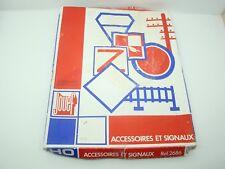 JOUEF - HO - 2686 - BOITE D'ACCESSOIRES ET SIGNAUX - ANCIEN -