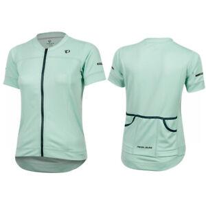 PEARL IZUMI $95 Womens XXL Elite Escape Short Sleeve Jersey Zip Top - Mist Green