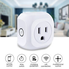 10pcs ES Plug WIFI Smart APP Remote Control Timer Switch Socket Home Automation