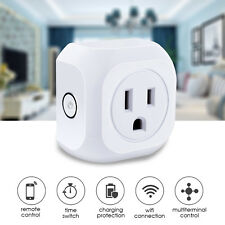 10 PACK WIFI Smart US Plug APP Remote Control Timer Switch Socket Google Home
