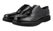 LUXUS CHURCH'S FULL BROGUE WINGTIP SCHUHE A740219 BLACK NEU NEW 40 40,5 UK 7